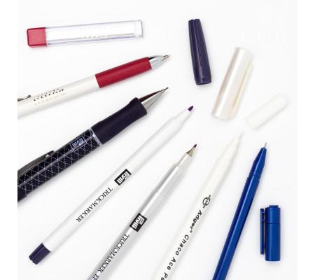 Маркеры, карандаши, ручки и мел